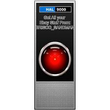 Fridge Fun Refrigerator Magnet 2001 SPACE ODYSSEY: HAL-9000 Kubrick Clarke COOL!