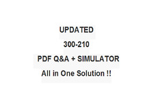 Cisco Threat Control Solutions  300-210 Test Exam QA PDF&Simulator