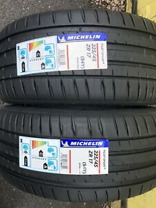2x 225/45 ZR17 MICHELIN PILOT SPORT 4,94Y XL Brand-New