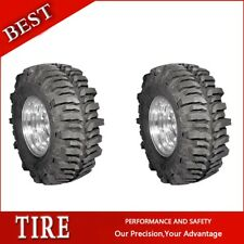 2PCS Super Swamper Tyres TSL BOGGER 44X19.50-16LT Tires 495 70 16 4 Ply