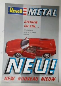 REVELL METAL DIE CAST 1987/8 TRADE PAMPHLET / CATALOGUE