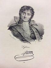 Révolution Française Maréchal Lefèvre gravure XIXe siècle France Napoléon