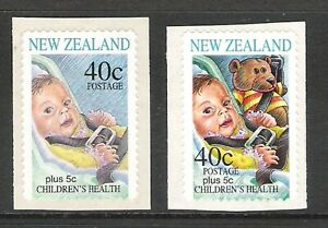 NEW ZEALAND 1996 HEALTH TEDDY BEAR S/A ERROR SINGLE (M) (REF:H1048) CV $3250
