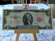 1953-B $2 LEGAL RED SEAL,GEM CU CONDITION,GREAT EYE APPEAL