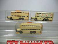 AF17-0,5# 3x Wiking H0 24 873 Berlin-Bus D 38: Persil etc, OVP