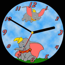 Dumbo CD Clock, free stand can be personalised
