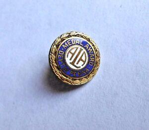 Vintage ALA American Legion Auxiliary Department Penna Medal Award Pin Pinback