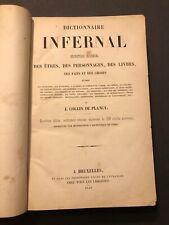 [16685-B86] Diable Démonologie - Collin de Plancy - Dictionnaire Infernal 1845