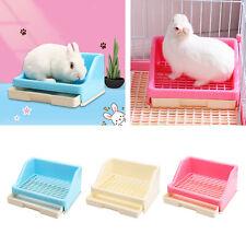Rabbit Litter Box Corner Litter Bedding Box Potty Pet Pan for Ferret Hamster