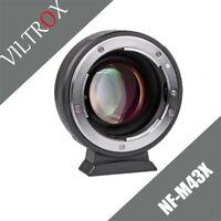 Viltrox Turbo Focal Reducer Speedbooster Adapter Nikon Lens to M4/3 Camera MFT
