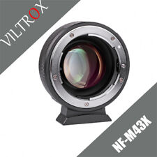 Viltrox NF-M43X 0.71x Focal Reducer Adapter for Nikon F Lens to M43 Cameras