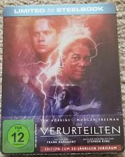 The Shawshank Redemption Limited German Exclusive Steelbook (Blu-ray) Usa Seller