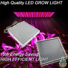 LED 225 GROW LIGHT PANEL BLUE/RED 15W HYDROPONICS ENERGY SAVING LED GROW LAMP