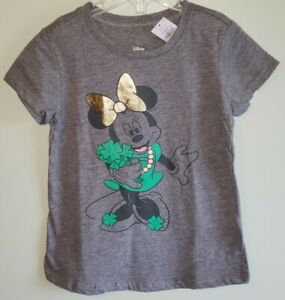 Old Navy Girls 12-18 2T 3T 5T Minnie Mouse T-Shirt Tee St. Patricks Day #28821