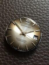 Bucherer Dial, Hands and ETA 2728 For Parts