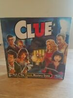 Hasbro CLUE The Classic Mystery Board Game NEW & SEALED 2018 Version FAST SHIP