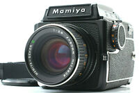 【EXC+5】 Mamiya M645  w/  Waist Level Finder + Sekor C 80mm f2.8 lens from JAPAN