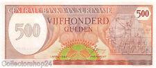 Suriname 500 Gulden 1982 Unc pn 129