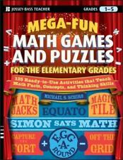 Mega-Fun Math Games and Puzzles for the Elementary Grades: Over 125 Activities
