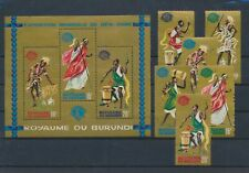 LL92823 Burundi New York World Fair fine lot MNH