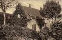 Swanage England Dorset alte AK ~1910 John Wesley Cottage Landhaus House Wohnhaus