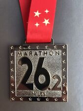 Marathon Gold and Red Medal - WITH ENGRAVING