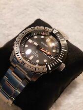 Seiko Men's Prospex SRP587 200M Sport  Diver Men's Custom Domed Sapphire crystal