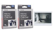 Pellicola Istantanea FujiFilm Instax Wide Mono Chrome x 200/210/300 20 foto