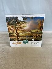 ALWAYS ALERT Terry Redlin ~ 1000 Pc Puzzle Ceaco BONUS Poster ~ COMPLETE
