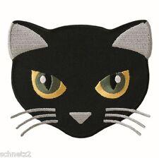 ♥Aufbügler♥Bügelmotiv♥Applikation Patch♥ Katze schwarz ♥Aufnäher ♥NEU♥♥