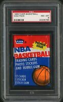1986 Fleer Basketball Wax Pack | Jordan Rookie RC Card Year | PSA 8 NM - MINT
