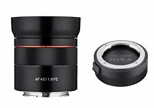 Rokinon 45mm F1.8 AF Compact Full Frame Lens with Lens Station (Sony E)