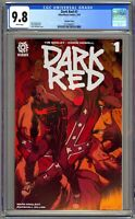 Dark Red #1 Cover A (1st Print) CGC 9.8 - Larry Stroman (1:10) Variant