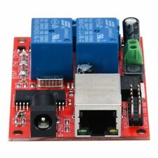 2-Way Ethernet Delay Relay Module DC5V TCP/UDP Controller Module Network Switch