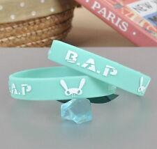 2pics BAP B.A.P HIMCHAN YOUNGGUK ZELO DAEHYUN YOUNGJAE wristband KPOP NEW SH113