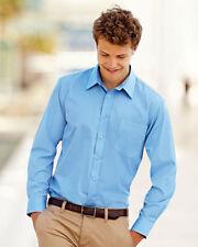 Cotton Blend Roll Sleeve Regular Formal Shirts for Men