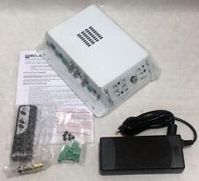 Ecler CA120  Unique boutique Micro-Amplifier / Remote Controlled 120 watt amp