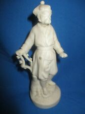 ANTIQUE  PARIAN WARE FIGURE OF  Chinese Gentleman c.1840