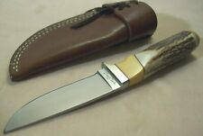1990's~BENCHMARK BY GERBER~UNUSED~HIGH END STAG HUNTING KNIFE w/ORIG. SHEATH~