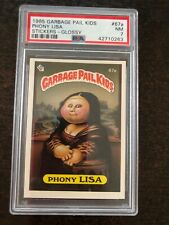 1985 TOPPS GARBAGE PAIL KIDS #67A PHONY LISA *PSA NM 7 * KGC-11120