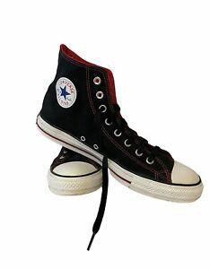 Black & Red Converse All Star Chuck Taylor Hi Top Unisex PO#001223125