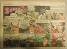 Superman Sunday Page #193 by Siegel & Shuster from 7/11/1943 Half Page:Year #4!