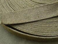 WH DAK Afrikakorps Webbing HBT Material Rolle Ausrüstung LAGO 1941 35mm 6,-€/lfm