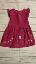 Gymboree 2T Girl Pink Birthday Party Animal Dress Bunny Fox Cat Paris Bear Star