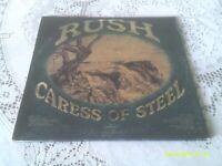 RUSH. CARESS OF STEEL. GATEFOLD. MERCURY. SRM-1-1046. 1975. FIRST US PRESSING.