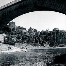 BALAZUC c. 1960 - Baignade dans l'Ardèche - DIV 3196