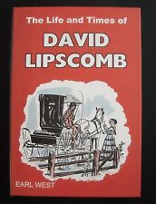 Life & Times of David Lipscomb ~ Earl West ~ Church of Christ ~ HBDJ ~ Like New!