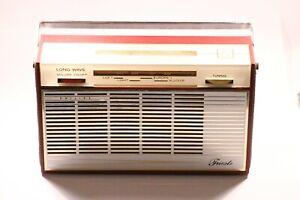 VINTAGE PHILIPS TRIESTE L2G43T CONTINENTAL BANDSPREAD RADIO 1966 MW - LW