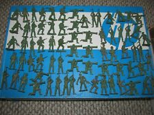 Vintage MPC Plastic WWII U.S. Army GI Soldiers Lot