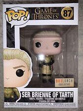 Funko Pop Game Of Thrones #87 Box Lunch Exclusive Ser Brienne Of Tarth